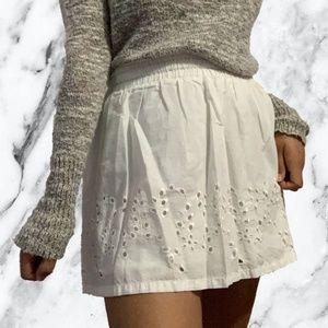 3 for $15 Garage White Skirt